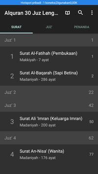 Alquran 30 Juz dan Terjemahan screenshot 3