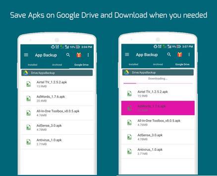 Easy Backup Restore - Apps Backup screenshot 1