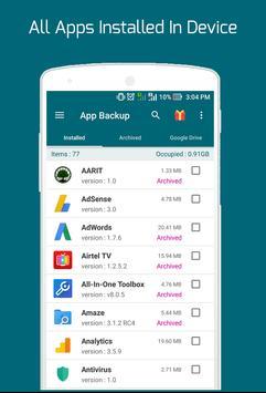 Easy Backup Restore - Apps Backup screenshot 4