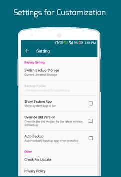 Easy Backup Restore - Apps Backup screenshot 5