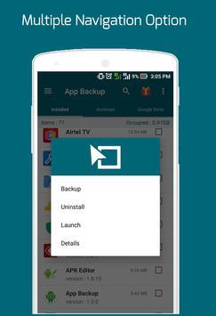 Easy Backup Restore - Apps Backup screenshot 6