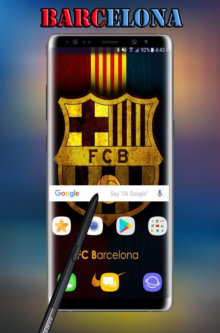 FC Barcelona Wallpaper HD 2018 poster