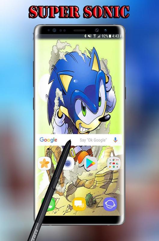 super sonic game wallpaper hd apk download free art
