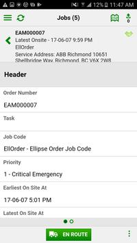 ABB Ellipse WFM FieldWorker screenshot 1