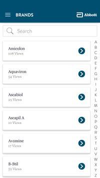 Abbott Brand Info apk screenshot