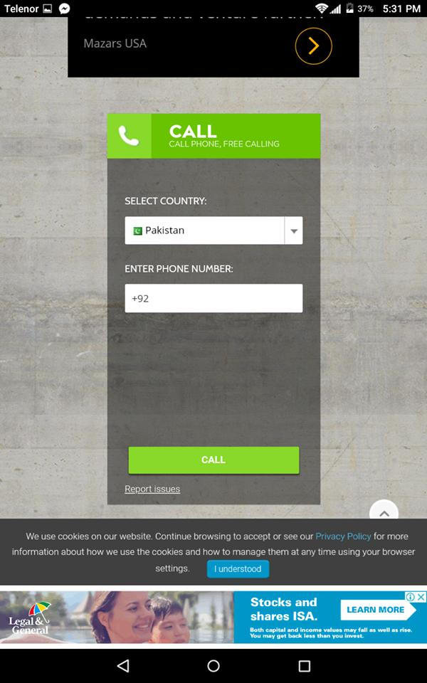 globfone free call for Android - APK Download