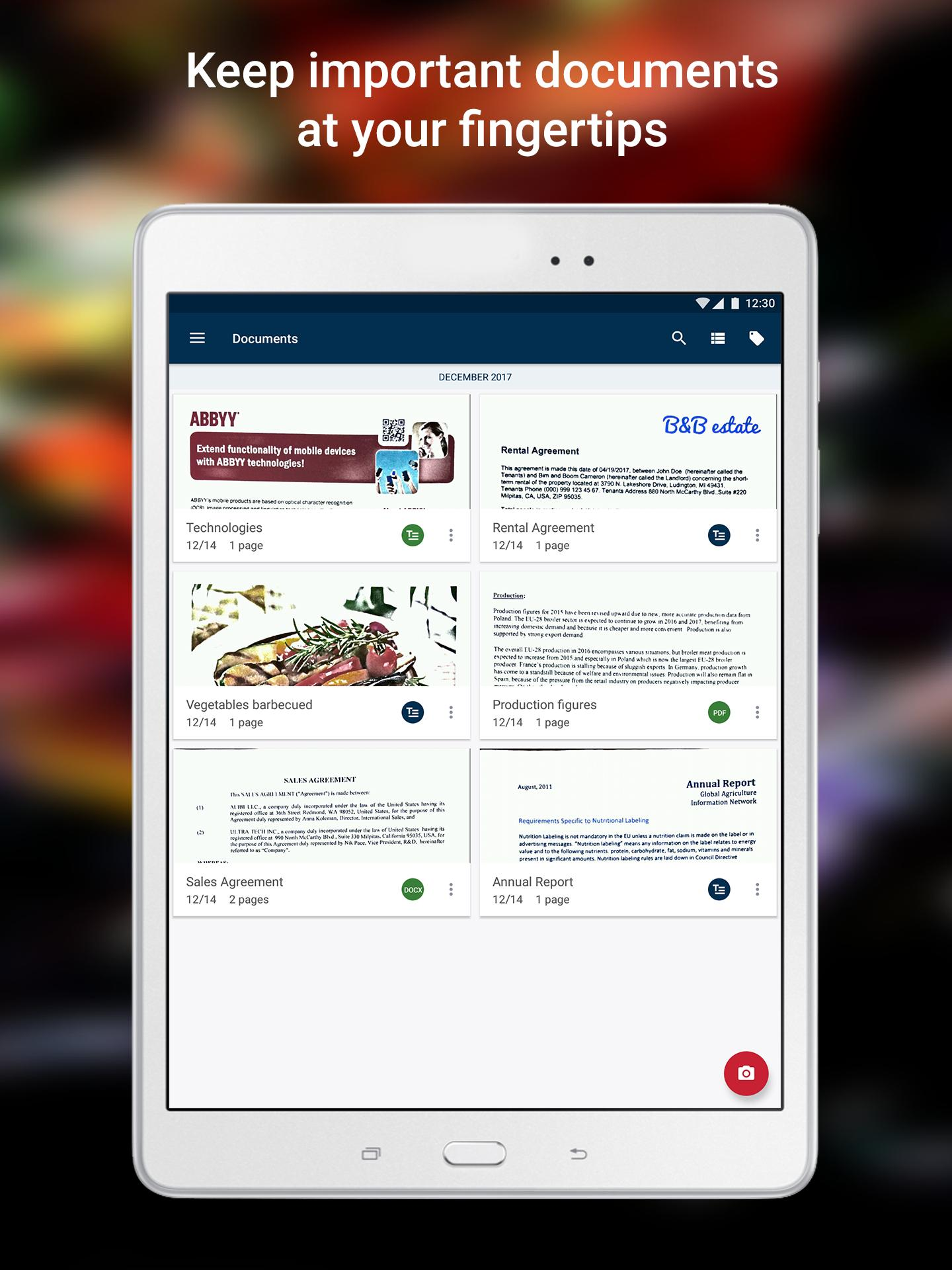 ABBYY FineReader client for Android - APK Download