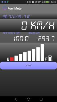 GPS FuelMeter poster