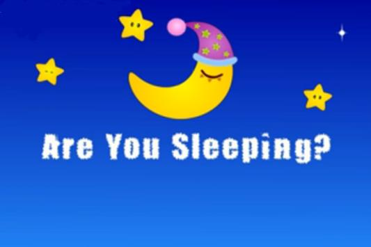 Kids Rhyme Are You Sleeping poster