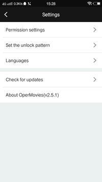 OperMovies (Unreleased) apk screenshot
