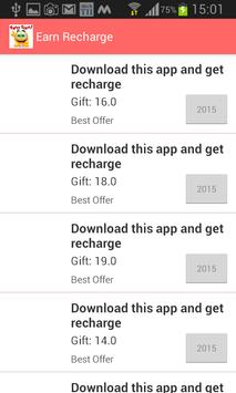 Recharge for free (Percentage) screenshot 2