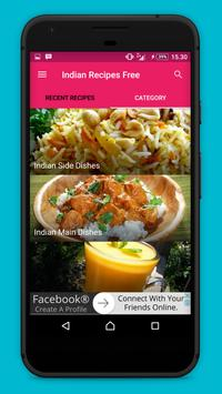 Indian Recipes !! screenshot 2