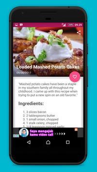 Potato Recipes !! apk screenshot