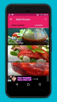 Salad Recipes!! apk screenshot