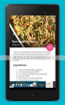 Spaghetti Recipes 2017 apk screenshot