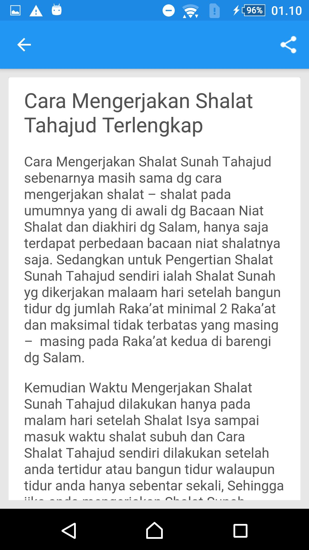 Tata Cara Sholat Tahajud Dan Doa For Android Apk Download