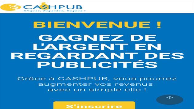 Cashpub maroc poster