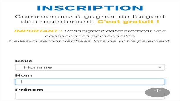 Cashpub maroc apk screenshot