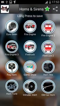 Sirens and horns apk screenshot