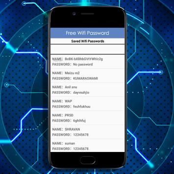 View Wifi Password apk screenshot