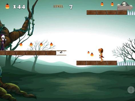 Halloween Jungle Run apk screenshot