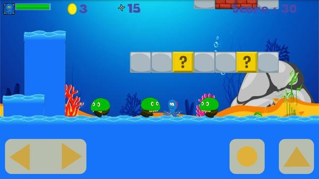 octopus and penguin in mission apk screenshot