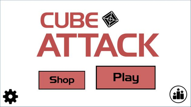 Cube Attack poster