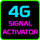 4G network Activation icon