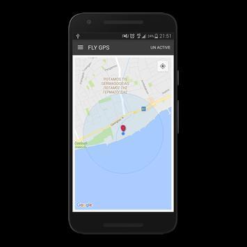Fly GPS screenshot 1