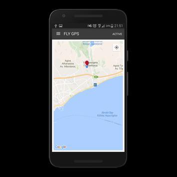 Fly GPS screenshot 2