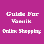 Guide For online shopping Voonik icon
