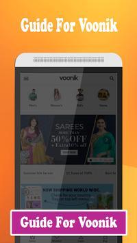 Guide For online shopping Voonik poster
