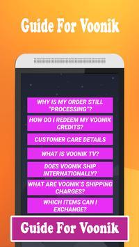 Guide For online shopping Voonik screenshot 1