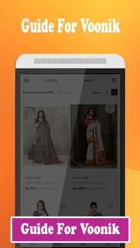 Guide For online shopping Voonik screenshot 2