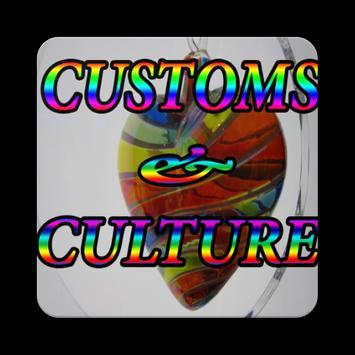CUSTOMS & CULTURE poster