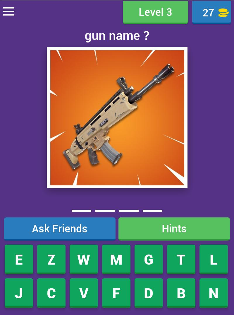 Fortnite Quiz for Android - APK Download