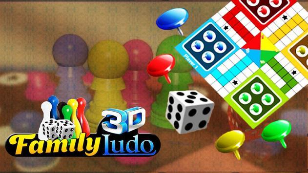Family Ludo Fun 3D screenshot 2