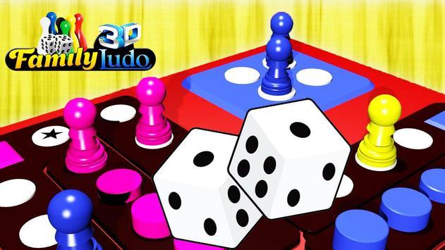 Family Ludo Fun 3D screenshot 3