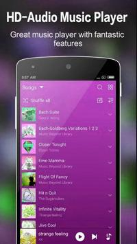 Synced Music Player Android screenshot 1