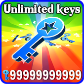 Unlimited Key for subway prank icon