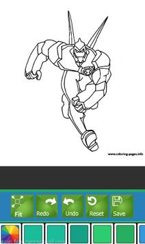 Coloring Book For Ben 10 Tips Apk Screenshot
