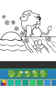 Coloring Book For Steven Tips Poster Apk Screenshot