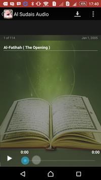 Quran Mp3 Abdul Al Sudais screenshot 3