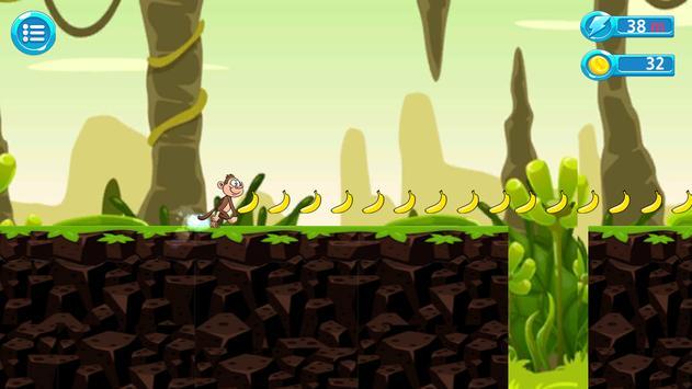 Jungle Monkey Run Advanture screenshot 1