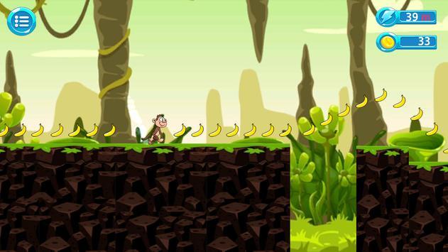 Jungle Monkey Run Advanture screenshot 6