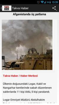 Takva Haber apk screenshot