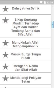 Kumpulan Aqidah Islami screenshot 1