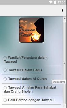 Kumpulan Tawasul screenshot 1