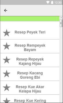 Resep Cemilan Kering apk screenshot
