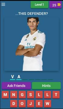 Real Madrid QUIZ poster